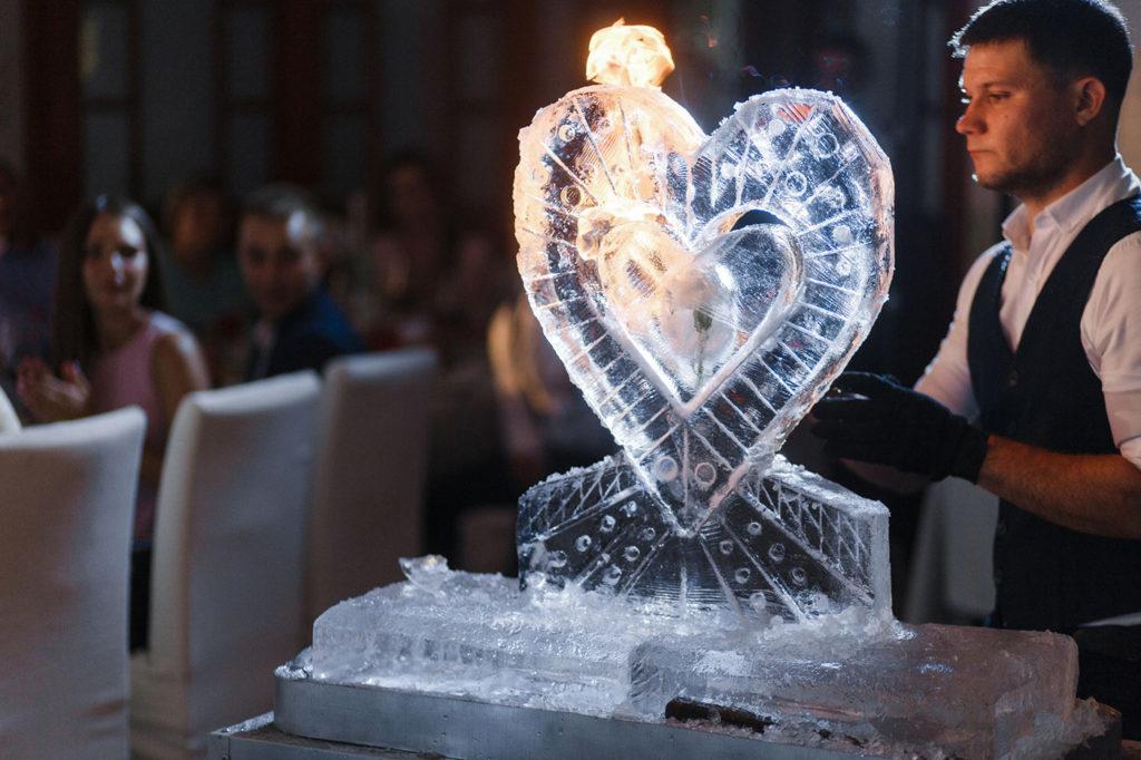 Ледовое шоу для свадьбы